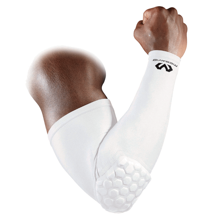 McDavid Shooter Arm Sleeve White