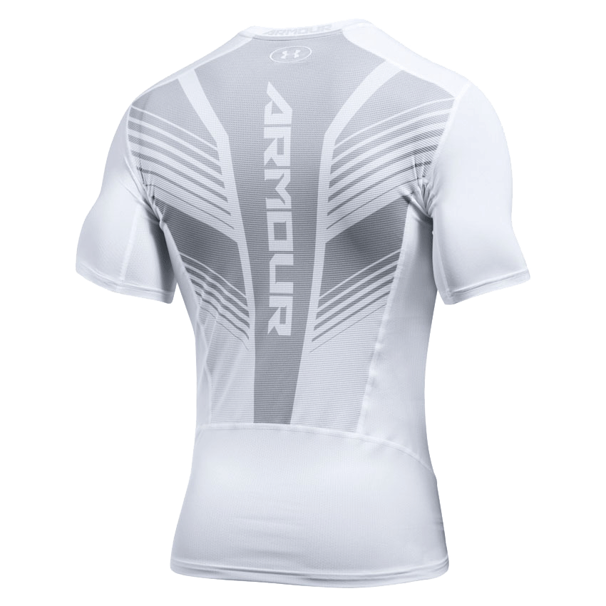 larghezza asperità la fine  Under Armour HeatGear® SuperVent Compression T-Shirt White at Bench-Crew