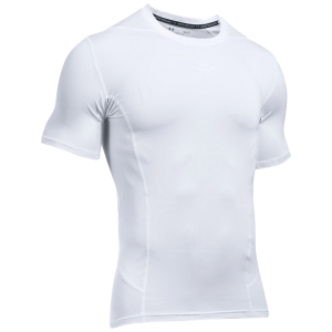 Under Armour HeatGear® SuperVent Armour Short Sleeve Compression T-Shirt White