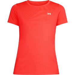 Orange Women's UA HeatGear® Armour Short Sleeve