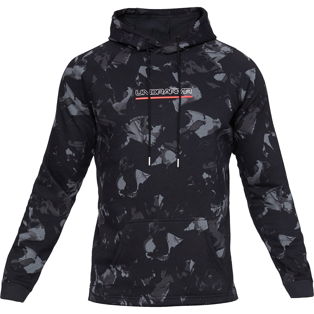 Men's UA Baseline Fleece Graphic Hoodie