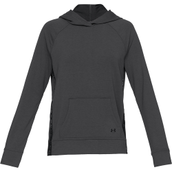 Women's Under Armour Featherweight Fleece Hoodie Black