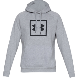 Men's Under Armour Rival Fleece Logo Hoodie Steel