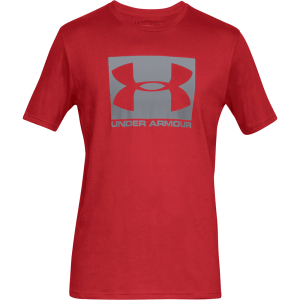 Under Armour Boxed Sportstyle Short Sleeve T-Shirt Red
