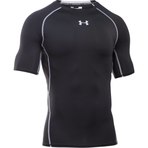 Under Armour HeatGear® Short Sleeve Compression Shirt Black