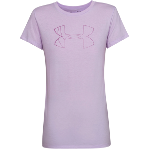 Women's Under Armour Graphic Big Logo Classic Crew Purple