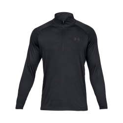 Under Armour Tech™ ½ Zip Long Sleeve Black