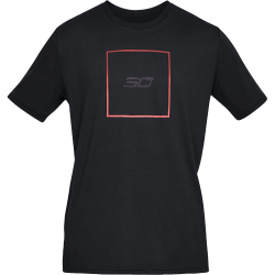 Under Armour SC30 Box Logo T-Shirt Black