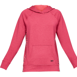 Women's Under Armour Featherweight Fleece Hoodie Pink