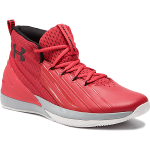Under Armour Lockdown 3 Basketball Shoes Red