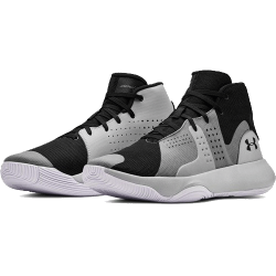 Under Armour Anomaly Basketball Shoes Black/Grey