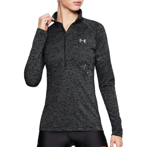 Women's Under Armour Tech™ Twist ½ Zip Black